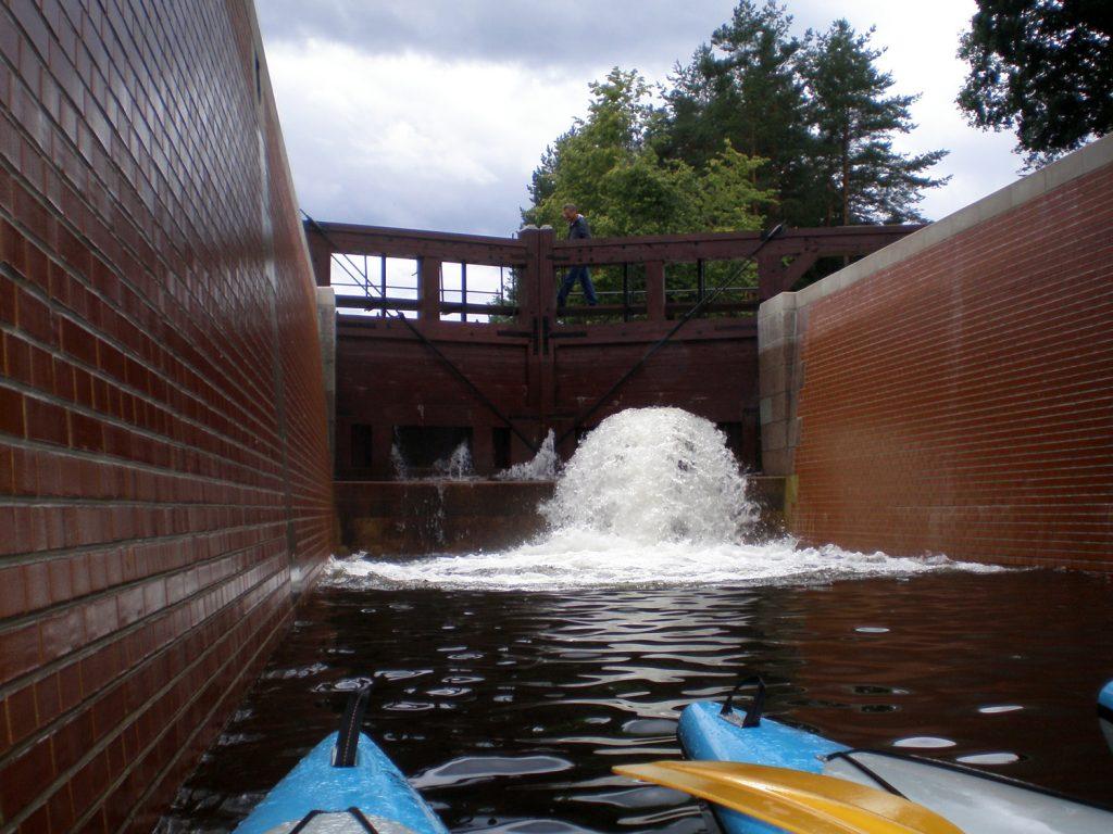 mikaszówka lock poland augustów canal