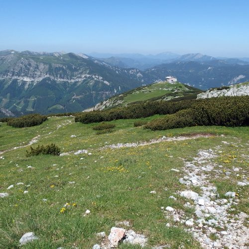 raxalpe mountains in austria - landscape