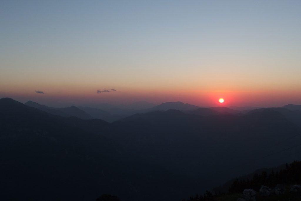 rax alps sunset