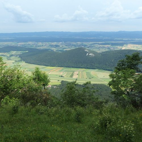 hohe wand mountains in austria - landscape