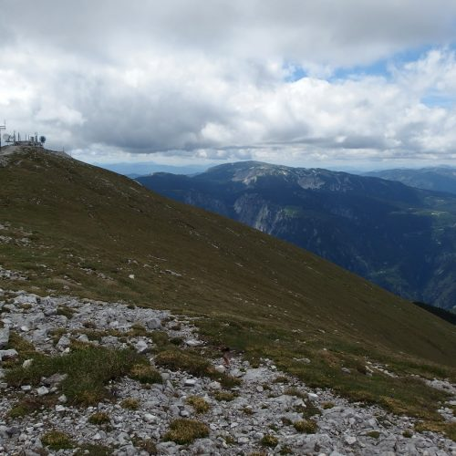 schneeberg in lower alps in austria - landscape