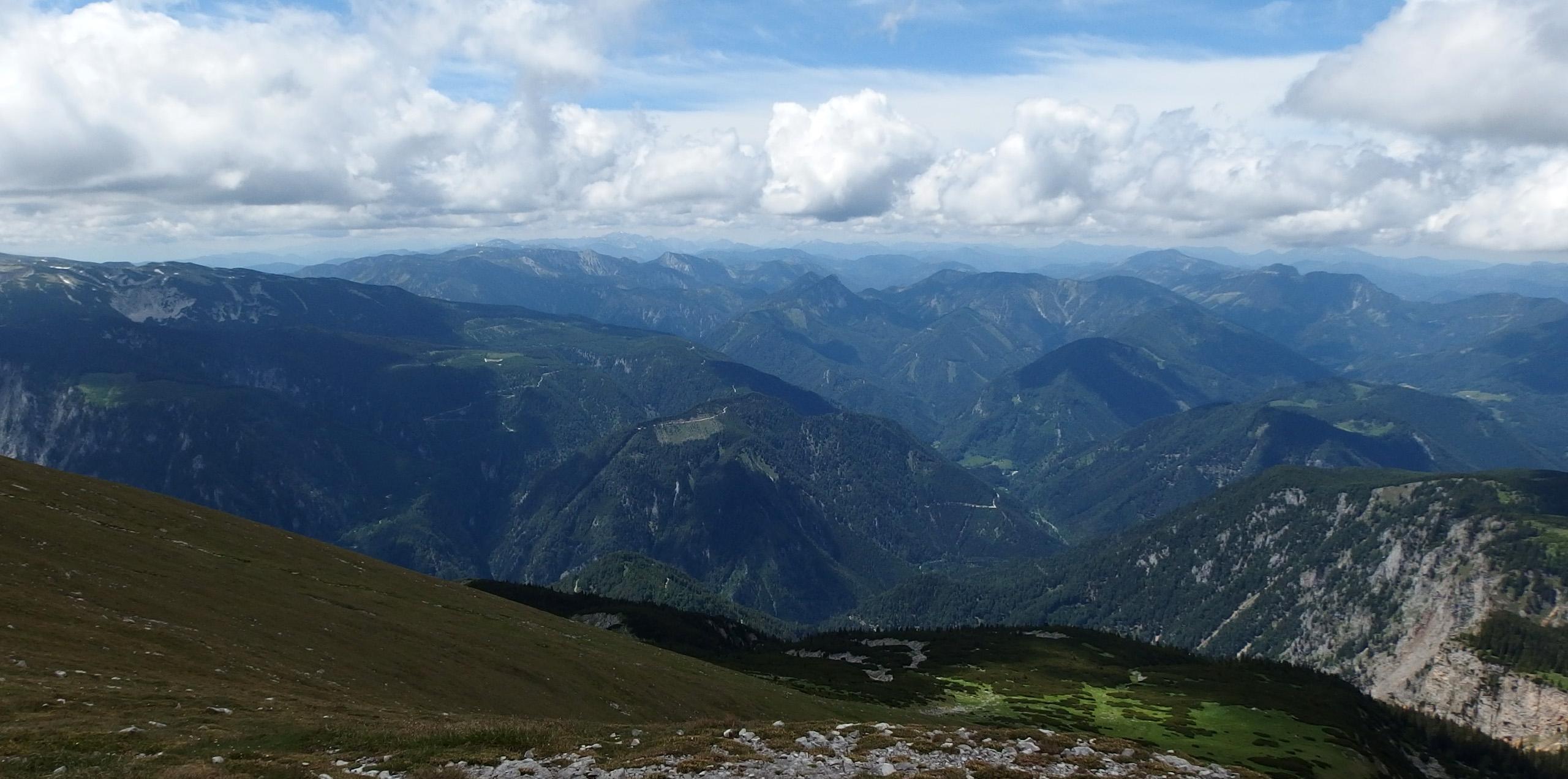 Schneeberg – najwyższy szczyt Dolnej Austrii