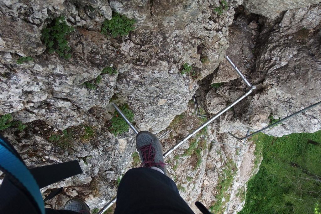 turmstein, via ferrata