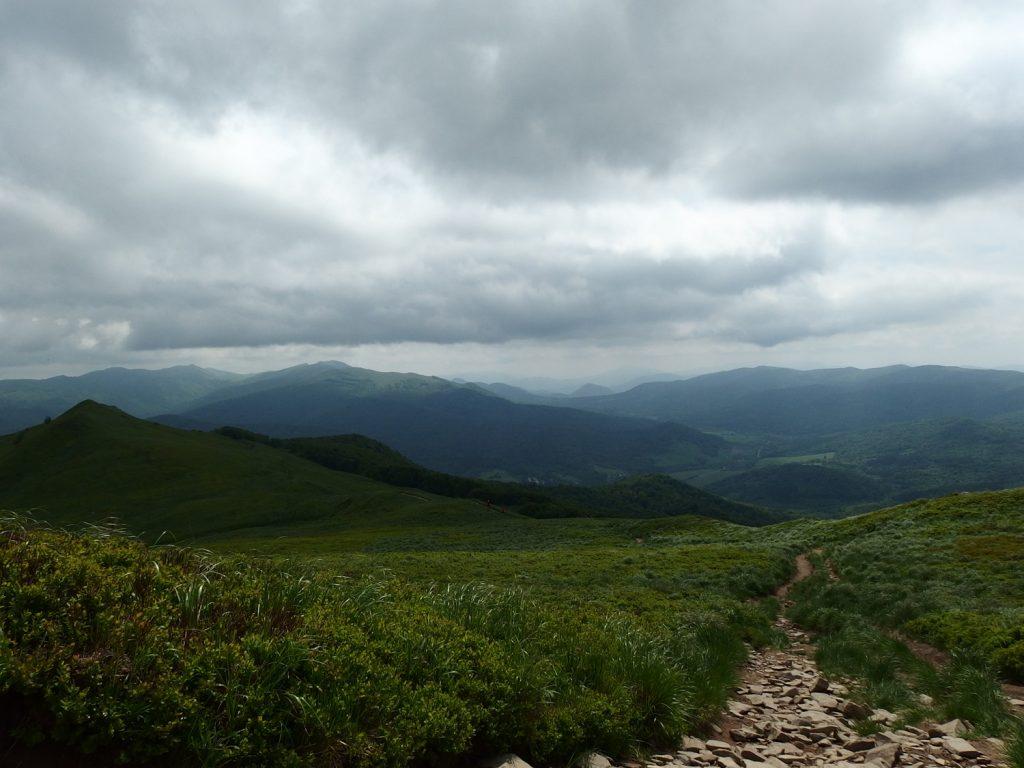 polonyna carynska bieszczady mountains