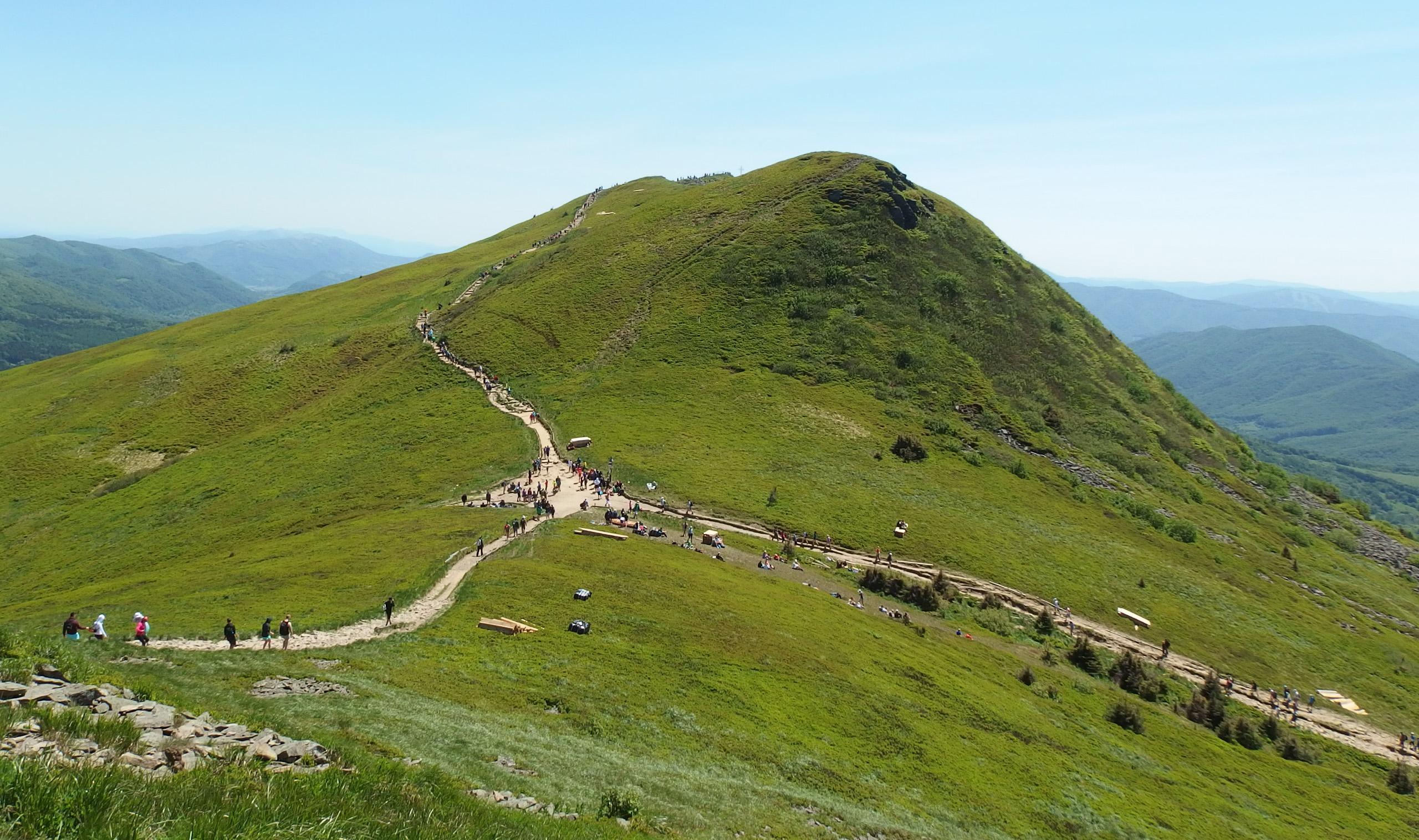 Tarnica - najwyższy szczyt polskich Bieszczad