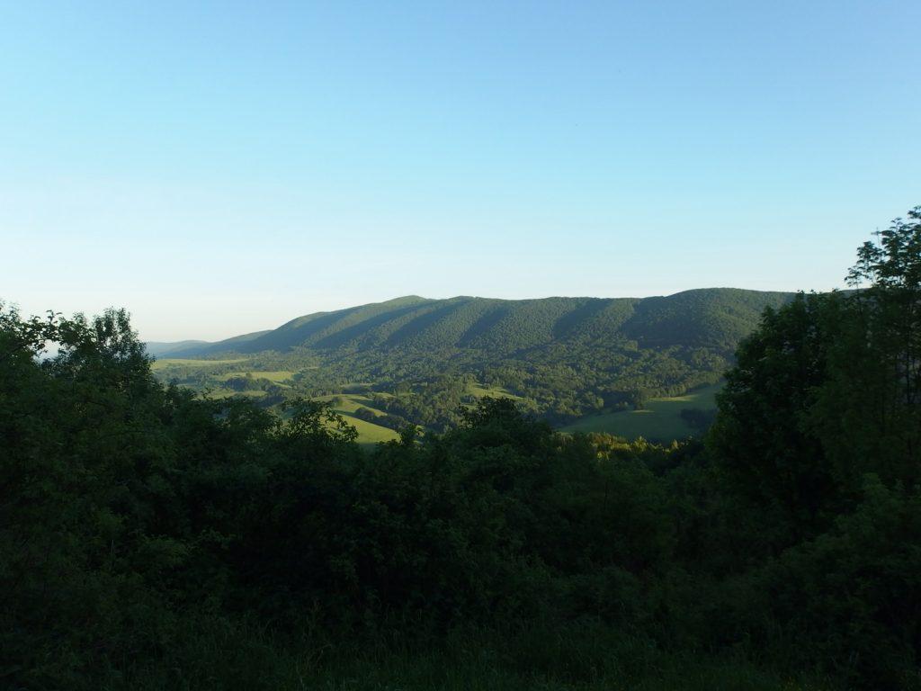 bieszczady mountains wetlinska polonyna