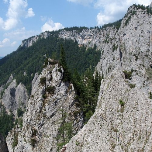raxalpe mountains in austria - via ferrata wildfahrte