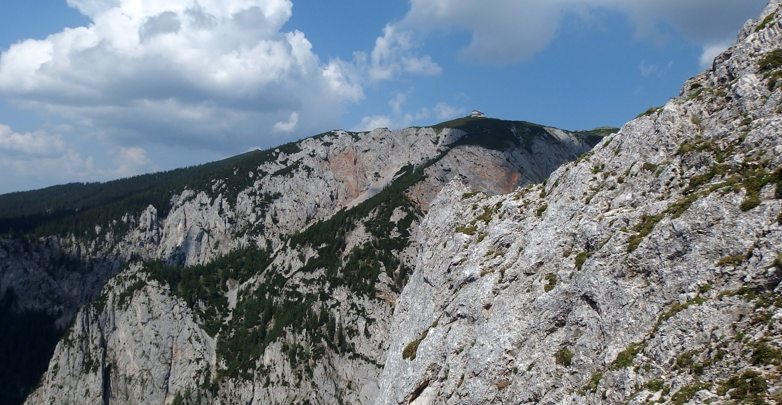 Wildfährte - ferrata with great views and medium difficulties