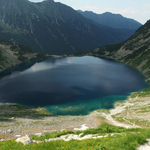 tatra mountains black pond (czarny staw)
