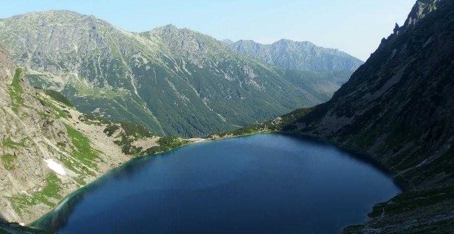 czarny staw tatra national park
