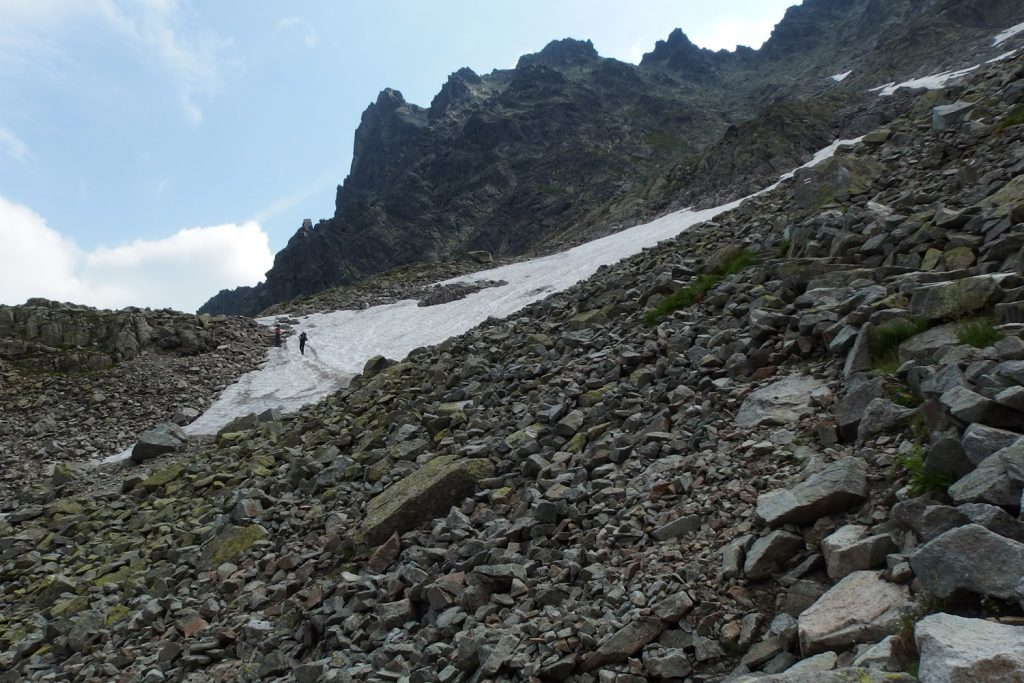 trail to rysy in tatra national park