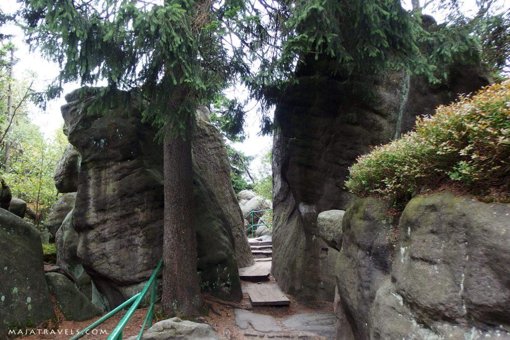 szczeliniec wielki stołowe mountains national park
