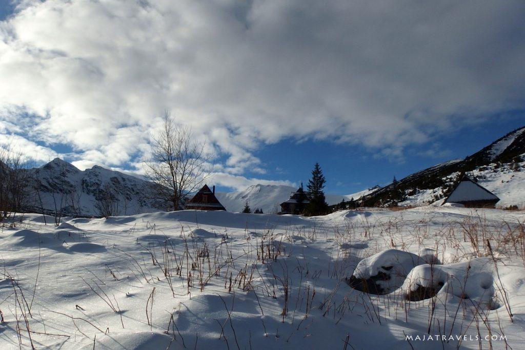 tatra mountains in winter