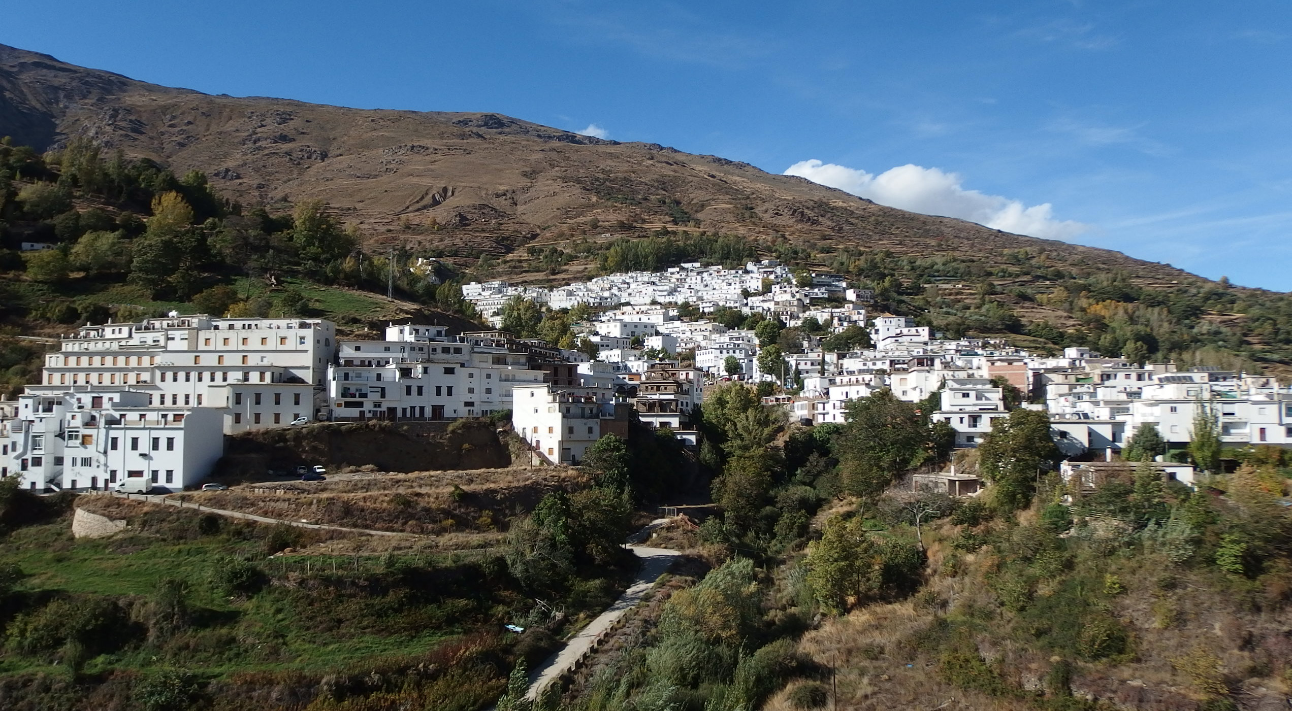 Trevélez - the highest village in Spain