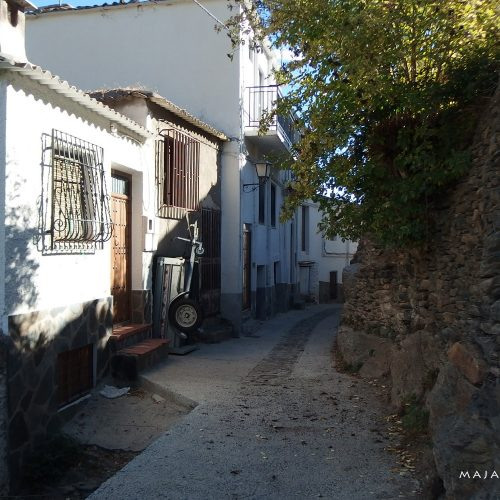 trevelez village in andalucia spain