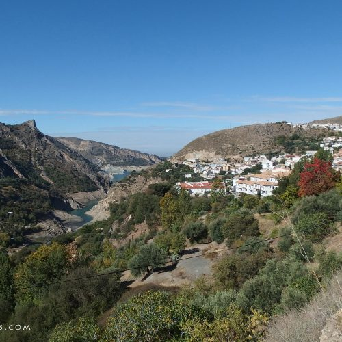 guejar sierra village in spain