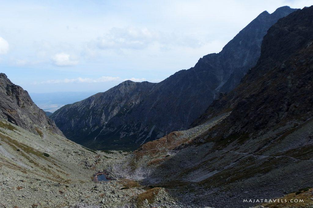 trail from jahnaci stit to zelene pleso