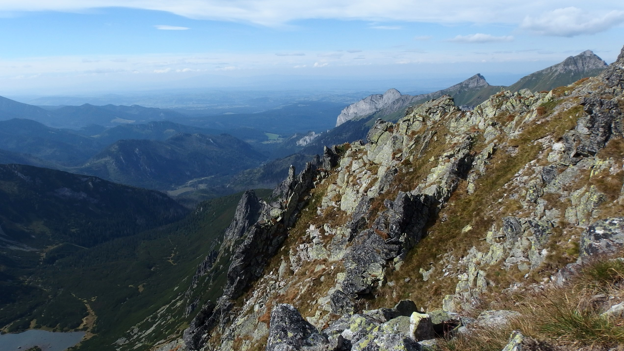 Through Belianske Tatras to Jahňací štít