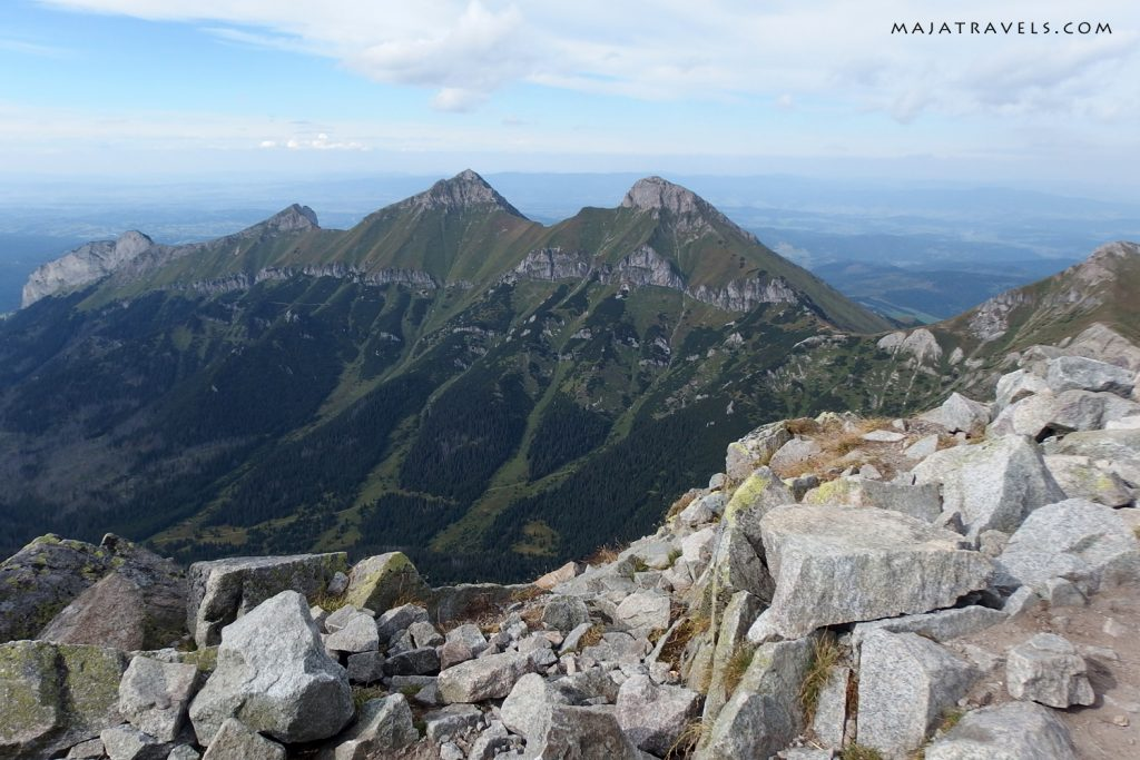belianske tatras view from jahnaci stit