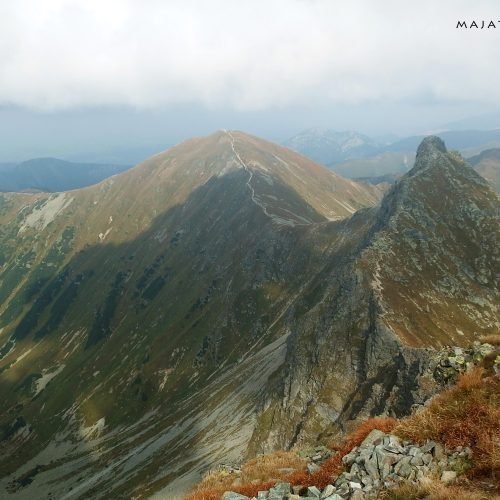 tatra mountains national park in slovakia - landscape rohace
