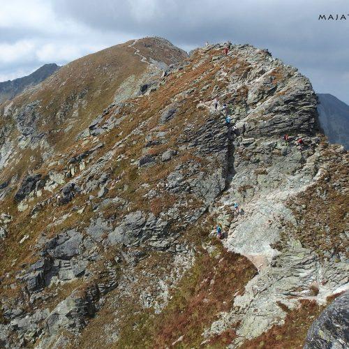 tatra mountains national park in slovakia - hiking trail