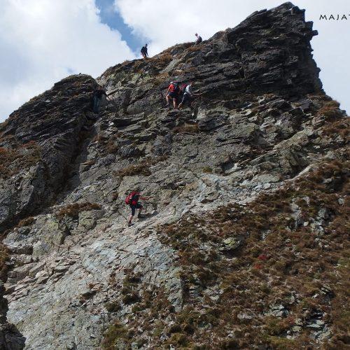 tatra mountains national park in slovakia - hiking and climbing