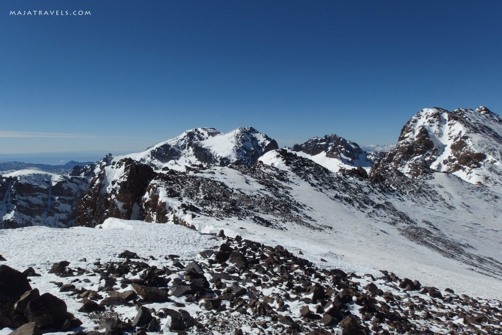 close to toubkal winter