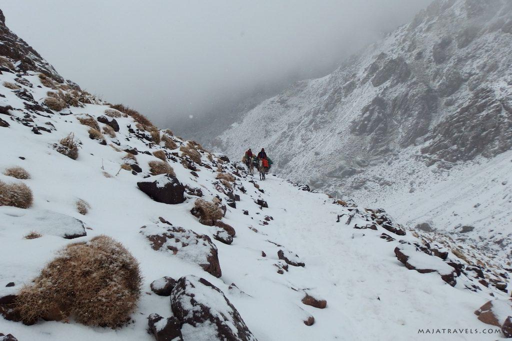 high atlas morocco winter
