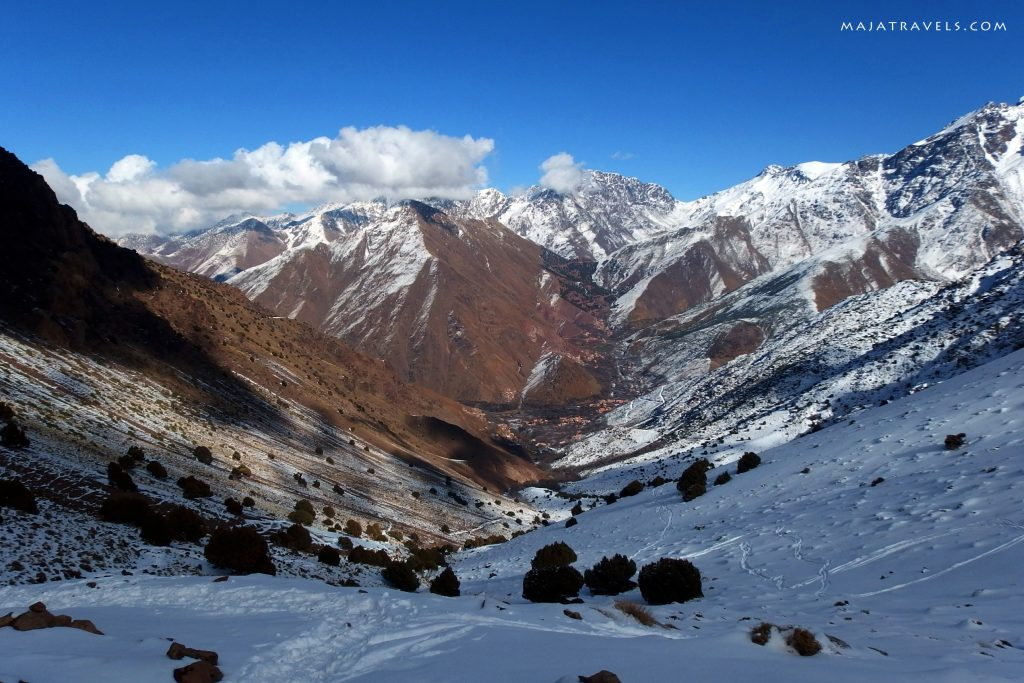 high atlas morocco winter