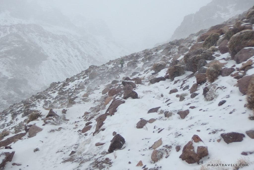 from imlil to refuge du toubkal