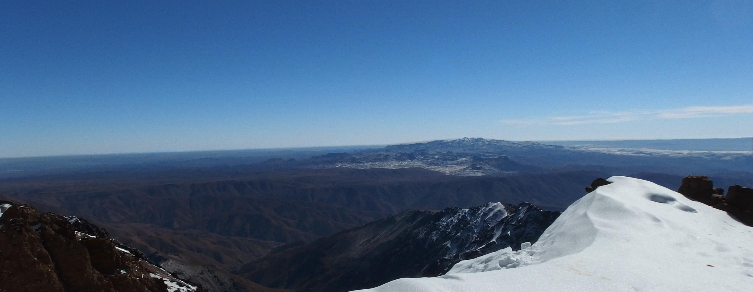 Atlas Wysoki (Jebel Toubkal) zimą