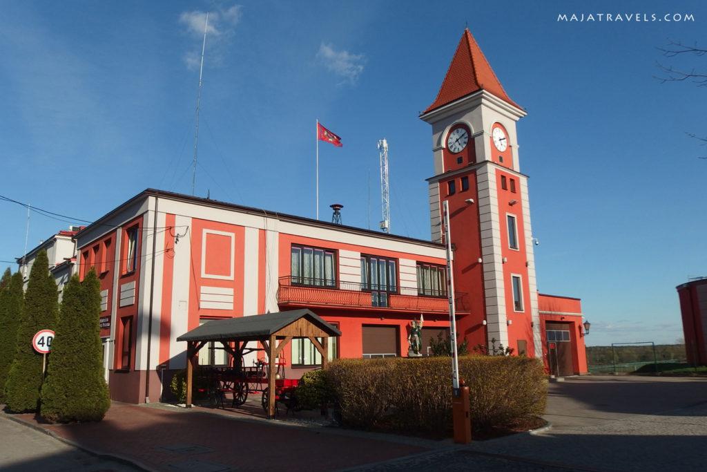 warka poland town hall