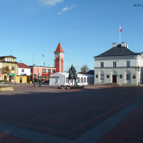warka town in poland