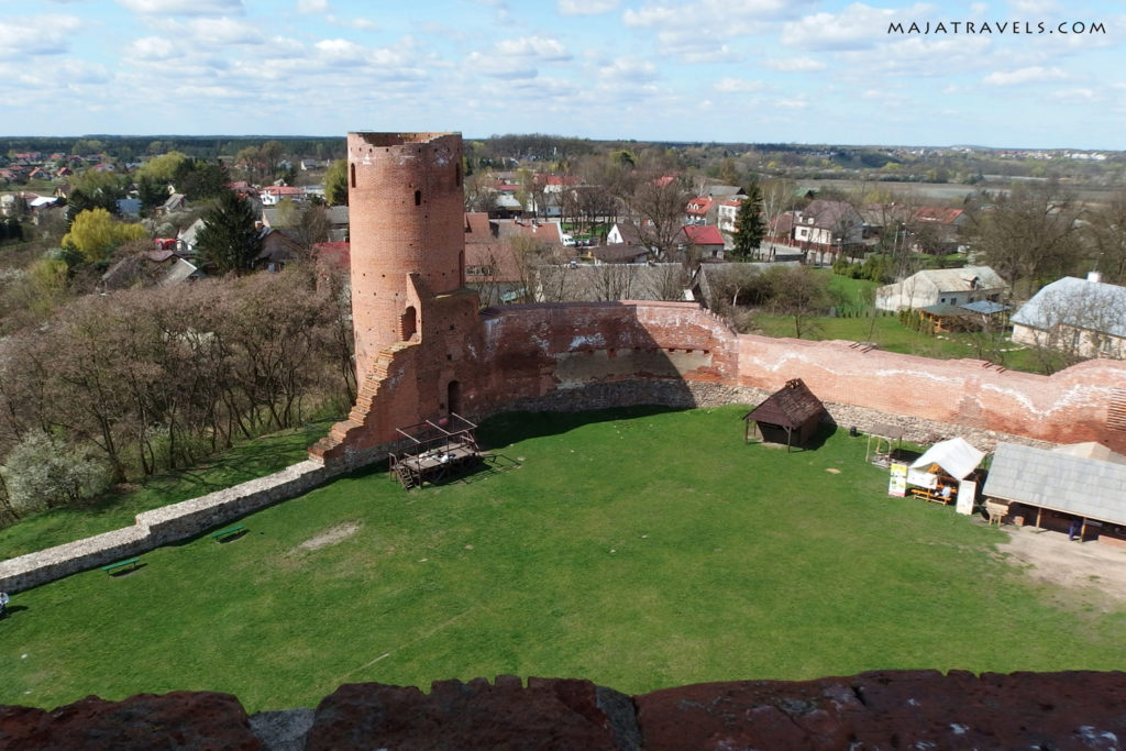 castle in czersk poland