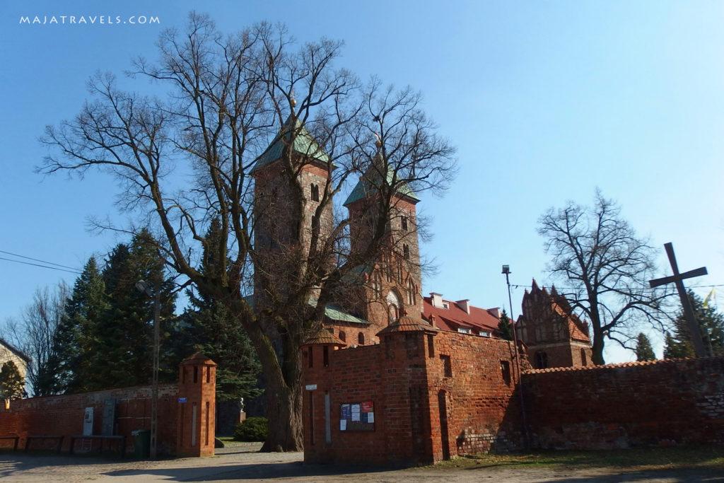 church in czerwińsk poland