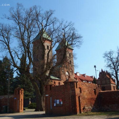 mazovia (mazowsze) in poland - monastery in czerwińsk