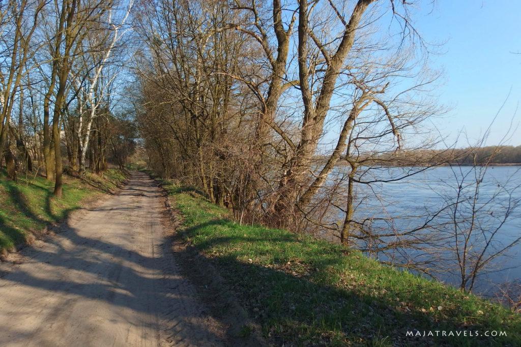czerwińsk nad wisłą, ścieżka rowerowa