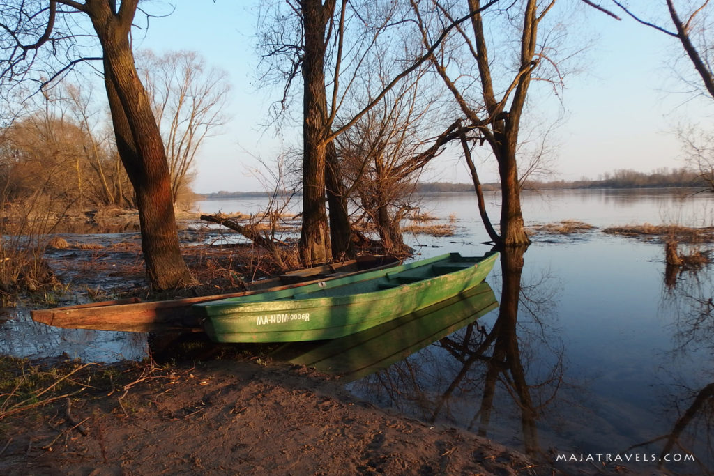 mazovia vistula river in poland