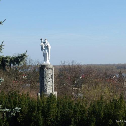 mazovia (mazowsze) in poland - monument in czerwińsk