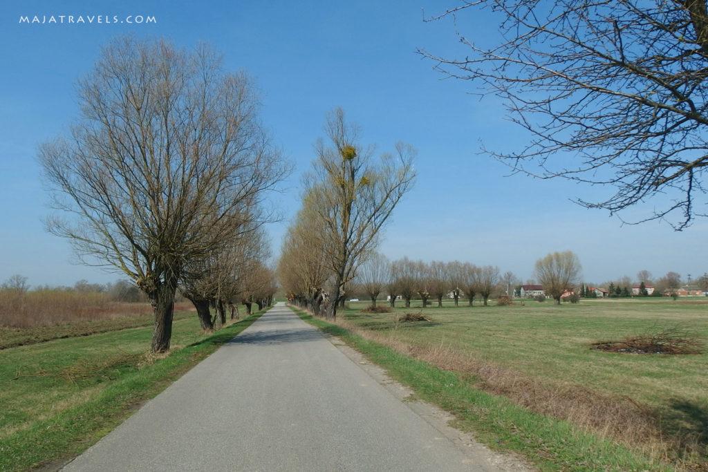 village in mazovia poland