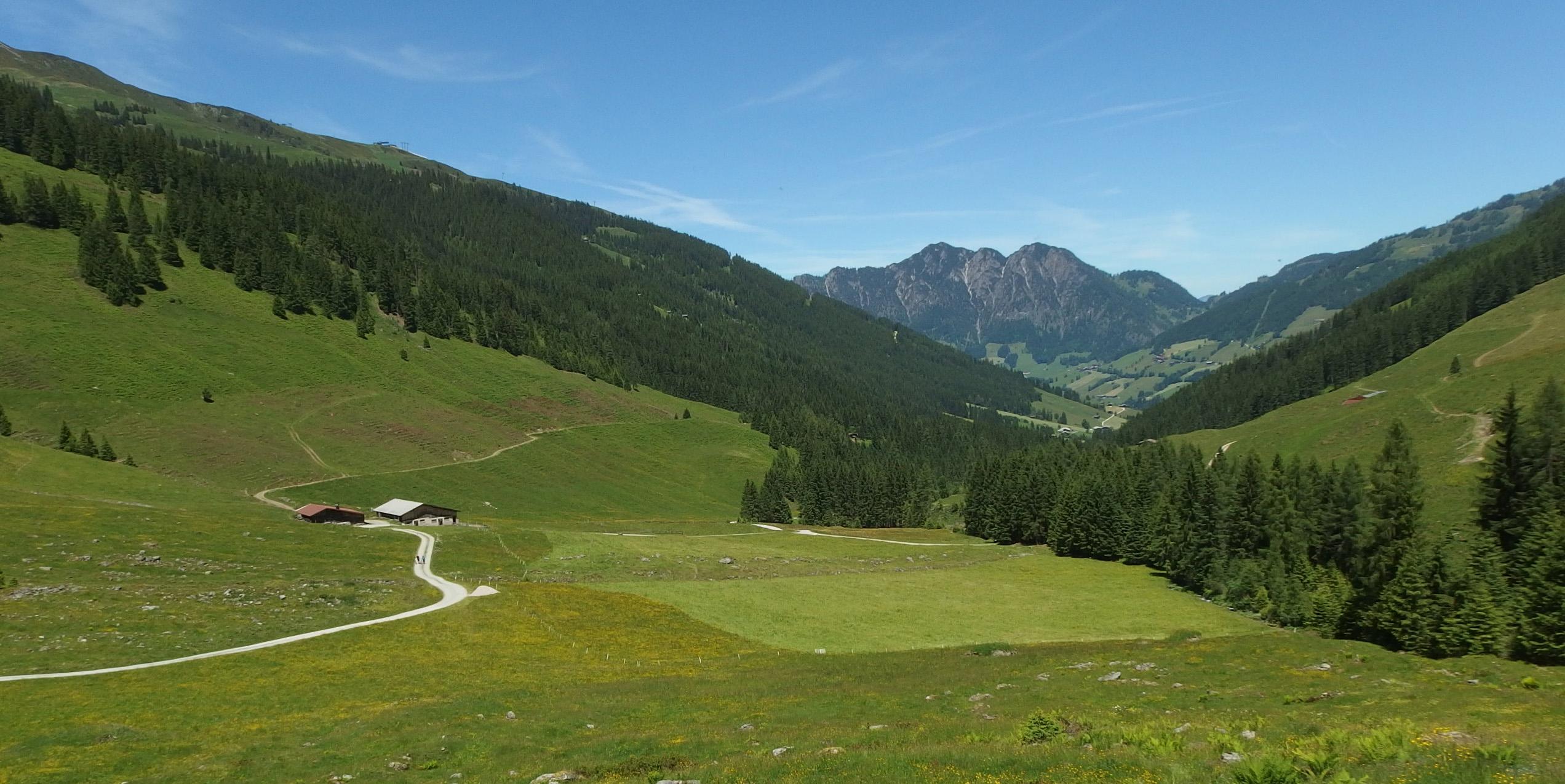 Rowerem i pieszo po Alpach Kitzbühelskich