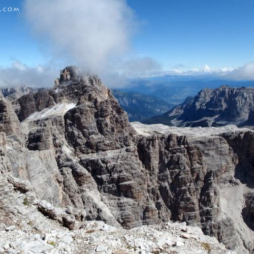 Brenta Dolomites. Via ferrata Bocchette Alte