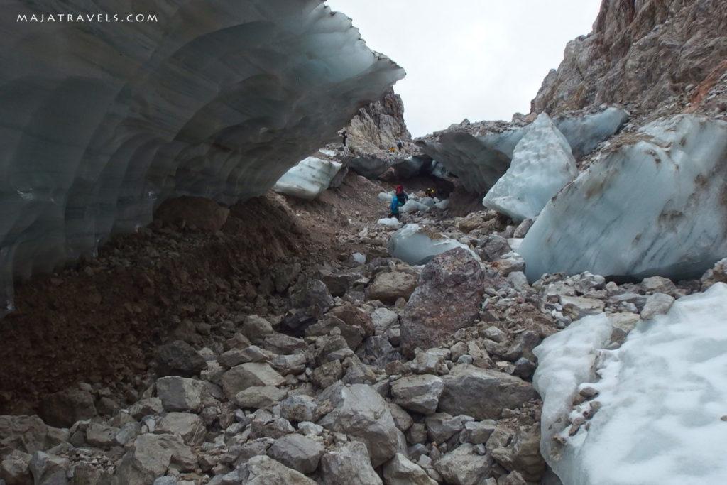 brenta dolomites glacier tuckett