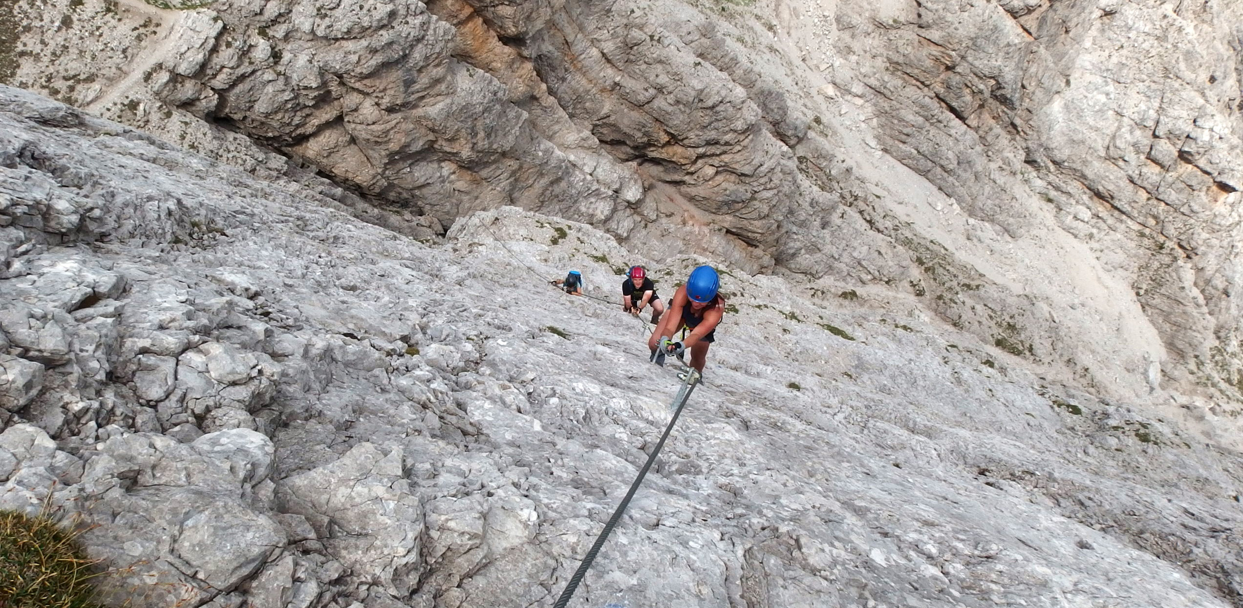 Via ferrata trails in Lienz Dolomites