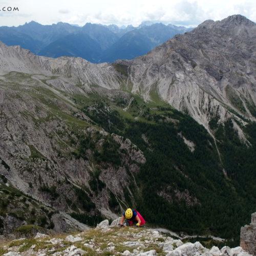 madonnen klettersteig (via ferrata), lienz dolomites