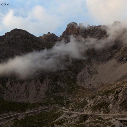 landscape from karlsbader hutte, lienz dolomites