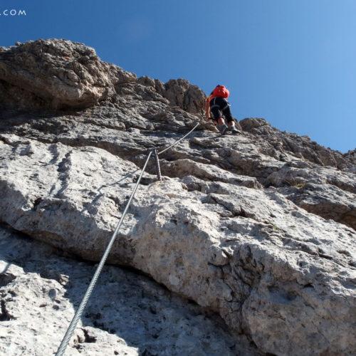 panorama klettersteig (via ferrata), lienz dolomites