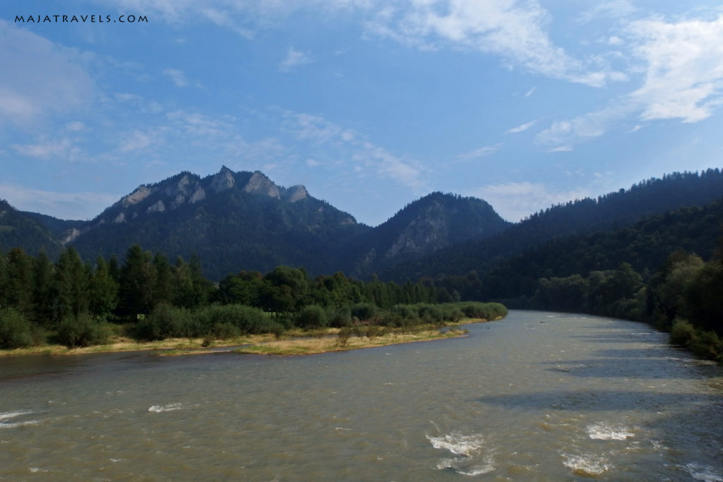 pieniny mountains trzy korony and dunajec
