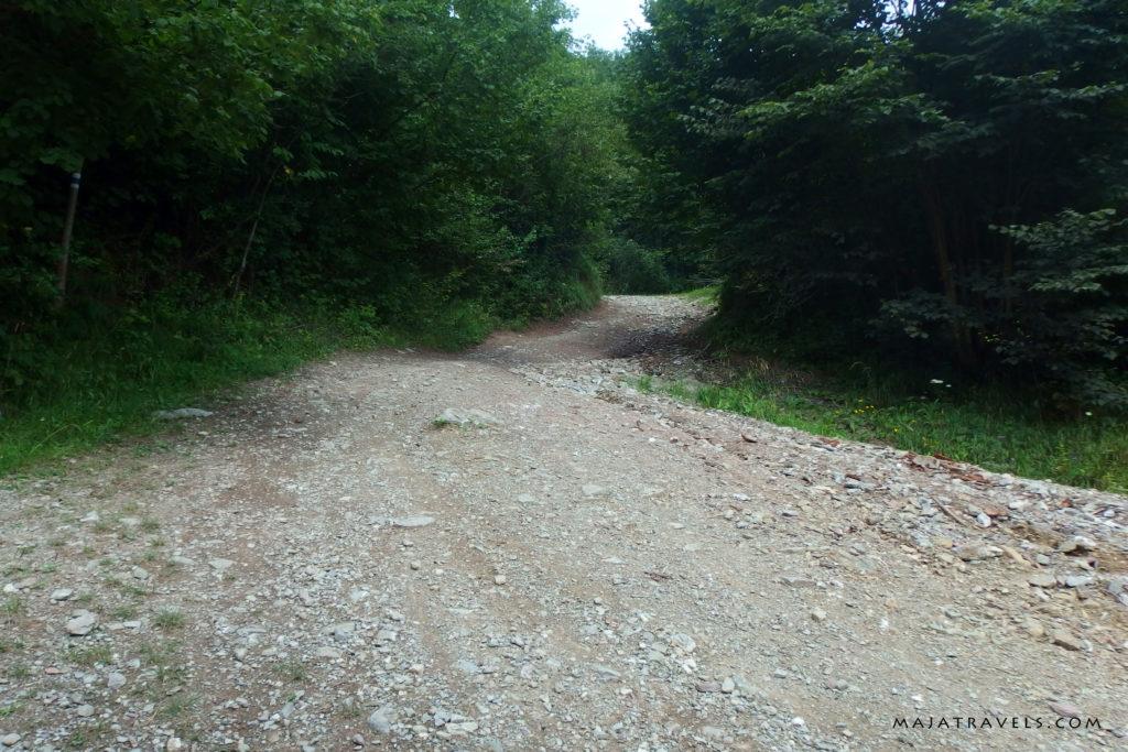 bike trail lesnica slovakia