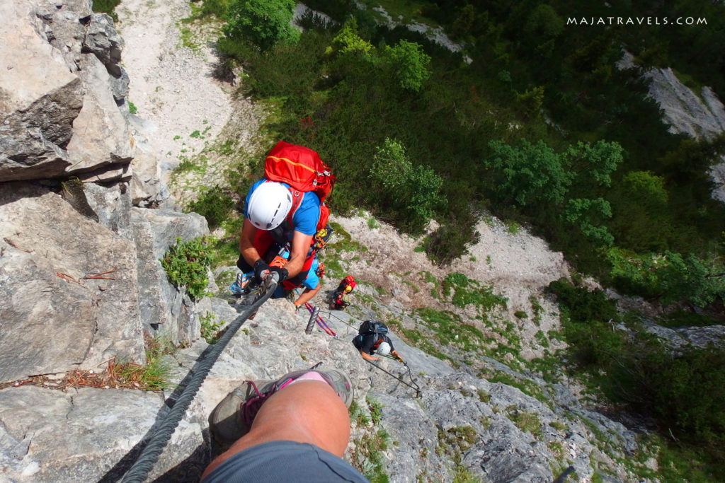 via ferrata siega